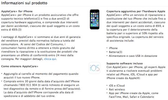applecareiphone 620x371 Apple: 36 mesi per Apple Care +