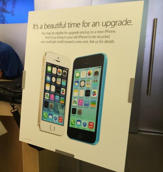 applestore1 Apple valuta i vecchi iPhone per lacquisto di quelli nuovi direttamente negli Apple Store