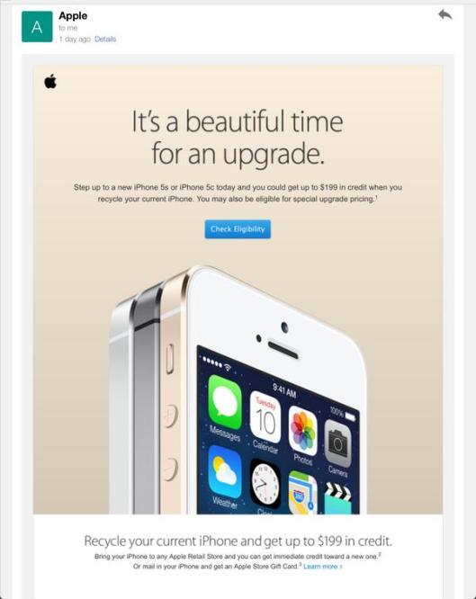 appletradeevent Apple valuta i vecchi iPhone per lacquisto di quelli nuovi direttamente negli Apple Store