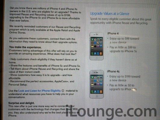 upgrade 620x465 Apple valuta i vecchi iPhone per lacquisto di quelli nuovi direttamente negli Apple Store