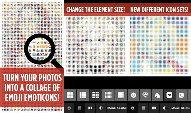 Emojify per iOS 620x367 Trasforma i pixel delle tue immagini in faccine con Emojify