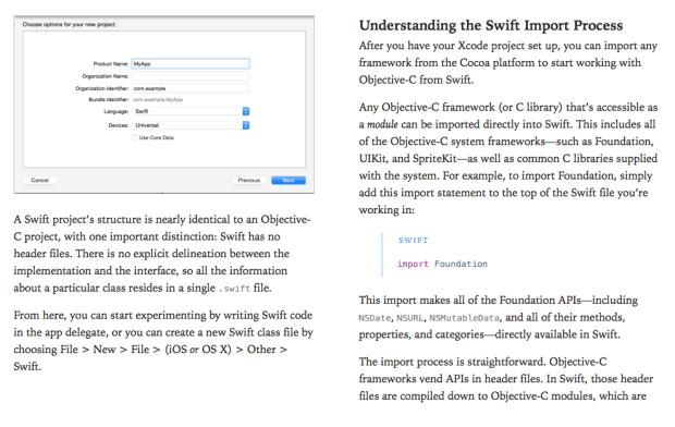 appleswiftebook 620x392 Apple pubblica un secondo libro, come utilizzare Swift con Cocoa e Objective C