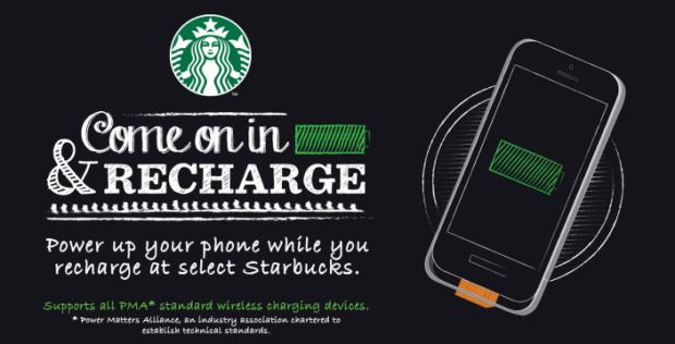 iphonericarica 620x316 Starbucks annuncia una novità, nei propri negozi sarà possibile ricaricare l'iPhone in modalità wireless