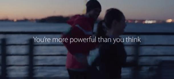 spotapple Apple presenta il nuovo spot dedicato al fitness