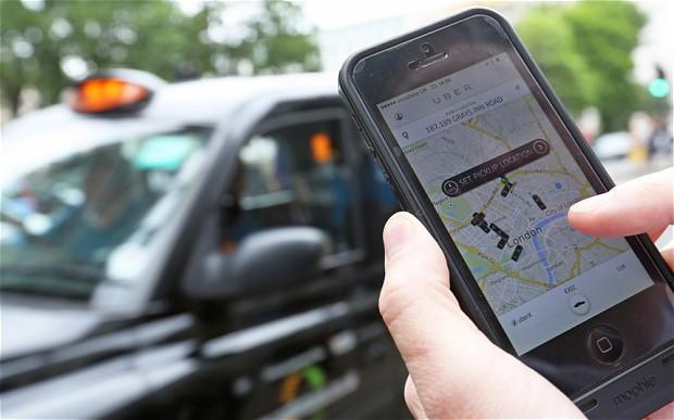 uber app Sciopero dei tassisti a vantaggio di Uber: boom di download per lapp in Europa