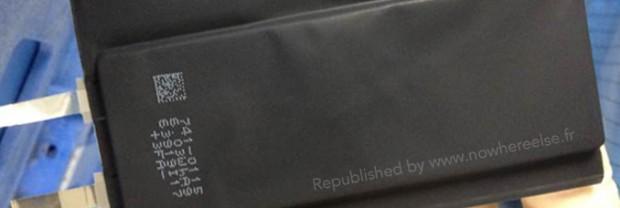 Phone 6 Air Batterie 620x208 [Rumors] Nuove immagini che ritraggono un nuovo design della batteria del nuovo iPhone marchiato Apple