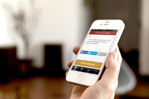 Your Fortune Cookie Il tuo biscotto della fortuna, un App per iniziare la giornata con il piede giusto