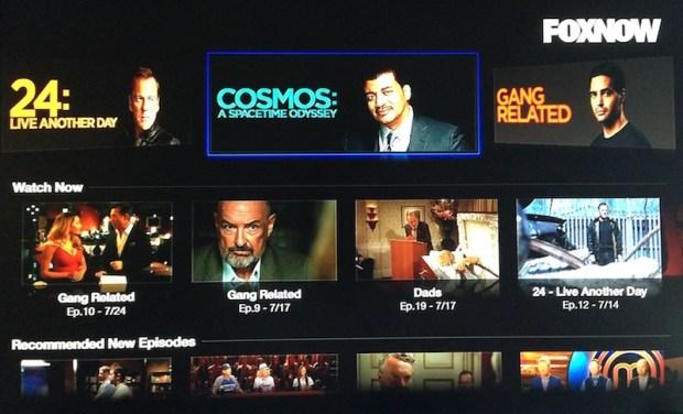 fox now apple tv 620x376 Negli Stati Uniti, la Apple TV è stata da poco aggiornata con nuovi canali e contenuti