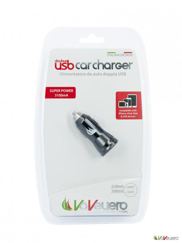 pack 2usb car charg 620x826 VaVeliero: Double USB Car Charger, un caricatore universale con 2 porte USB