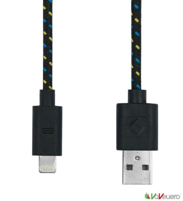 rope cable lighting black 620x683 VaVeliero: il cavo Lightning per iDevice in stile Nautico