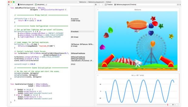 swift screenshot 620x352 Objective Code presenta il primo Corso iOS 8 Base scritto in linguaggio Swift