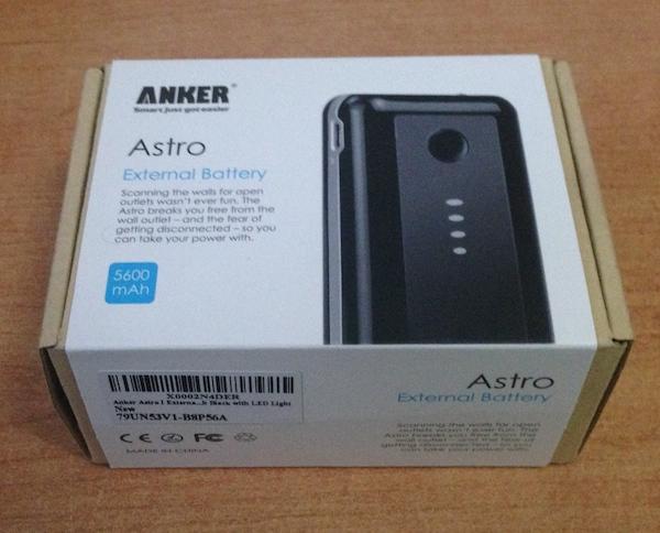 %name Anker Astro: 5600 mAh in più per il nostro smartphone