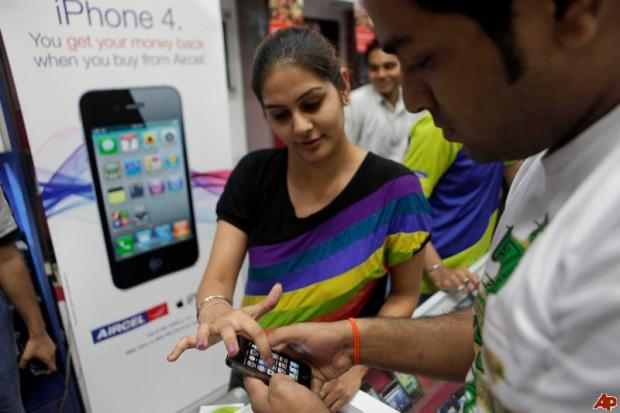 India Apple Store 620x413 Apple acquisisce quote di mercato in India con le vendite di iPhone 4 e iPhone 4s