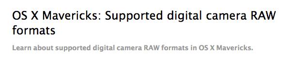 Schermata 2014 08 09 alle 17.15.35 Apple ha aggiornato iTunes e il supporto per le fotocamere RAW su OS X