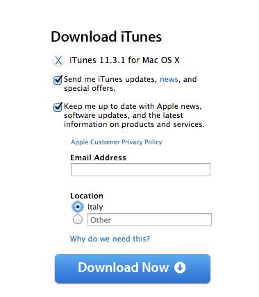 Schermata 2014 08 09 alle 17.16.19 Apple ha aggiornato iTunes e il supporto per le fotocamere RAW su OS X