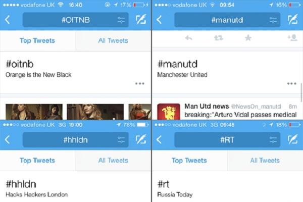 Twitter inserimento hashtag Twitter testa su iOS un nuovo modo per interagire con i suoi celebri hashtag