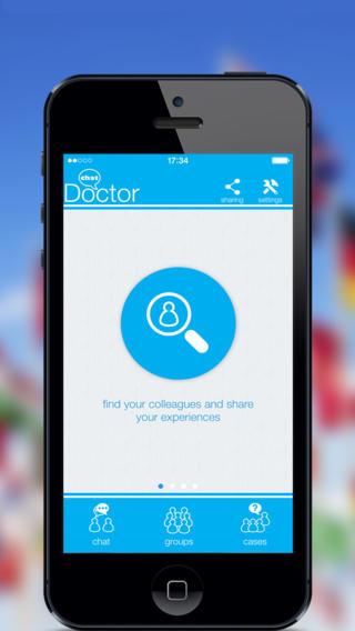doctorchat1 Doctor Chat, unApplicazione creata e sviluppata da medici per i medici