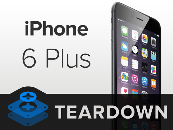6plus [immagini + Video ] iFixit: iPhone 6 Plus in tutto il suo splendore