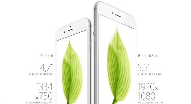 Retina HD 620x338 iPhone 6 e 6 Plus sono realtà: in Italia dal 26 settembre