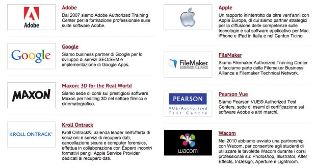 Schermata 2014 09 26 alle 17.49.31 620x329 Èspero, corsi di formazione e certificazione Apple, Web agency e Software House, assistenza Software/reti Mac