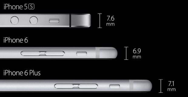 banneriphone 620x320 iPhone 6 Plus, iPhone 6 e iPhone 5s a confronto tra le specifiche tecniche