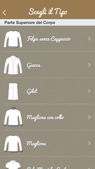 dressup51 DressUp è unApp, un outfit manager, che dà la possibilità allutente di creare combinazioni di vestiti con tutto quello che è stato fotografato e classificato