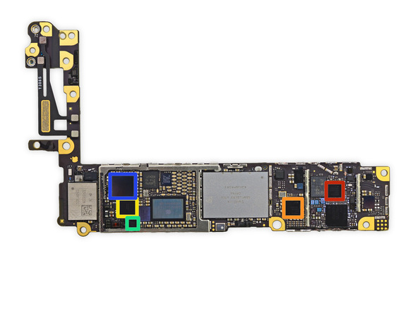 iphone28 [immagini + Video ] iFixit: iPhone 6 in tutto il suo splendore
