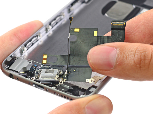 iphone32 [immagini + Video ] iFixit: iPhone 6 in tutto il suo splendore