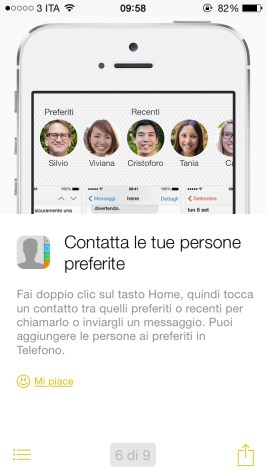 """suggerimentiapple6 620x1100 """"Suggerimenti"""", la nuova App integrata in iOS 8"""