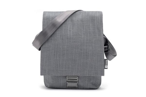 MCR11 GRY1 Mamba Courier di Booq, la borsa di juta per MacBook Air