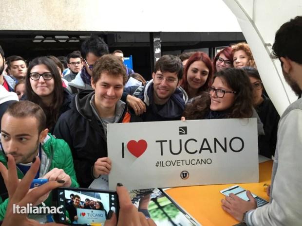 University Box Tucano politecnico bari 23 620x465 Foto: Italiamac partecipa al Tour University Box di Tucano