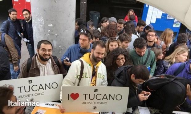 University Box Tucano politecnico bari 30 620x370 Foto: Italiamac partecipa al Tour University Box di Tucano