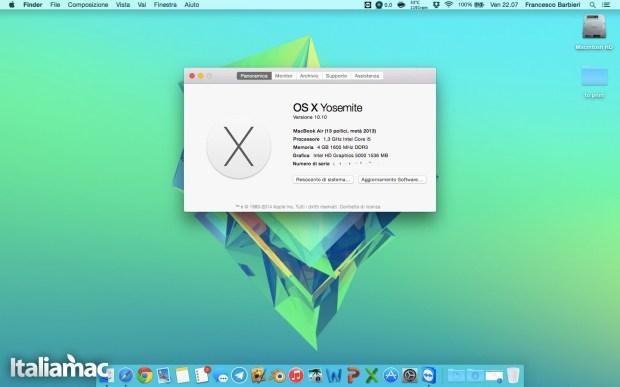Yosemite Desktop 620x387 Yosemite: prime impressioni