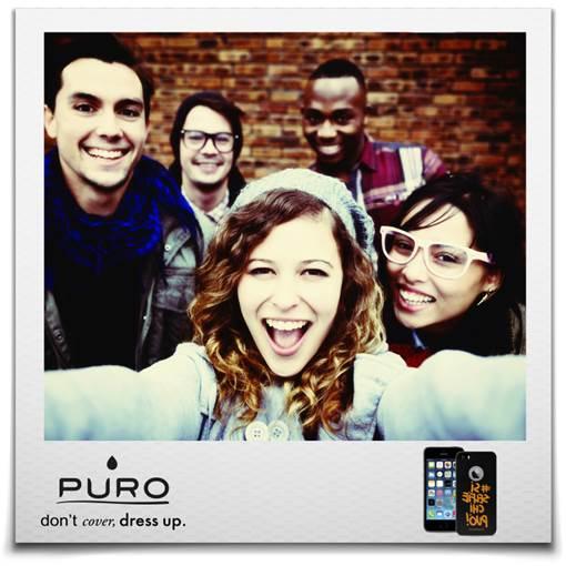 puro2 La nuova collezione di cover per iPhone 4/4s e iPhone 5/5s, nata dalla collaborazione tra Puro e Happiness