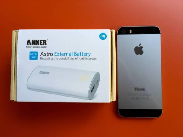 Anker1 620x464 Anker Astro di 2da Generazione 6400 mAh Batteria Esterna con Tecnologia PowerIQ e Uscita di 2A