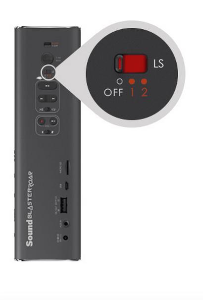 CREATIVE3 Creative Sound Blaster Roar: Speaker portatile wireless Bluetooth compatto, con NFC