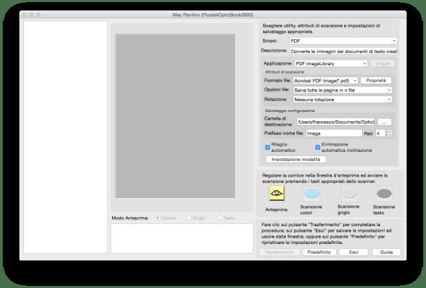 Schermata 2014 11 08 alle 11.36.22 620x419 Plustek OpticBook 3900: Lo scanner per i libri compatibile con Mac e PC