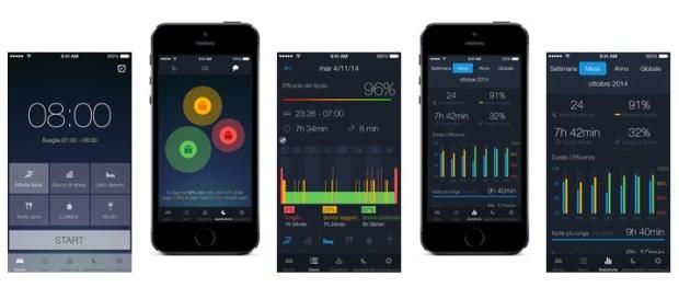 SleepBetterInsieme 620x273 Sleep Better, la nuova app di Runtastic per monitorare il sonno.