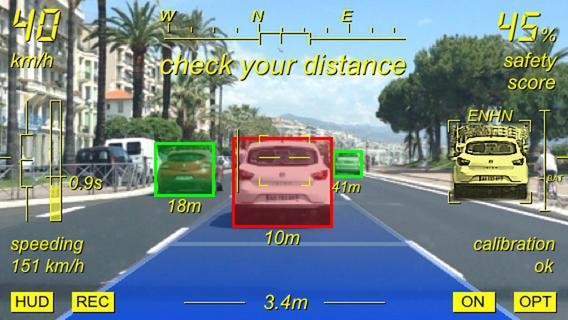 %name Augmented Driving, lapp che ci aiuta alla guida