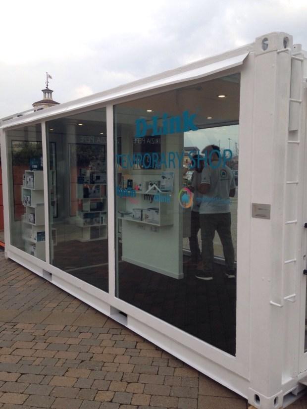 D Link Temporary Serravalle 1 620x826 Temporary store D Link al Serravalle Designer Outlet