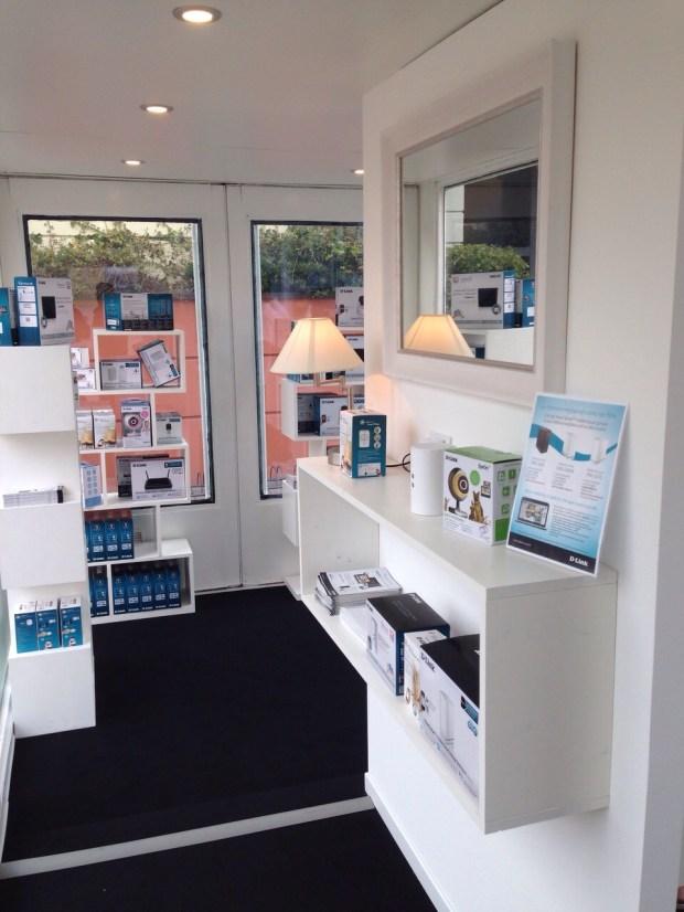 D Link TemporarySerravalle 3 620x826 Temporary store D Link al Serravalle Designer Outlet