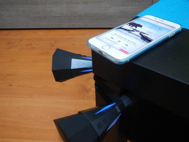 DSCN1539 620x465 hi Fun presenta hi Tube², uno speaker flessibile Bluetooth