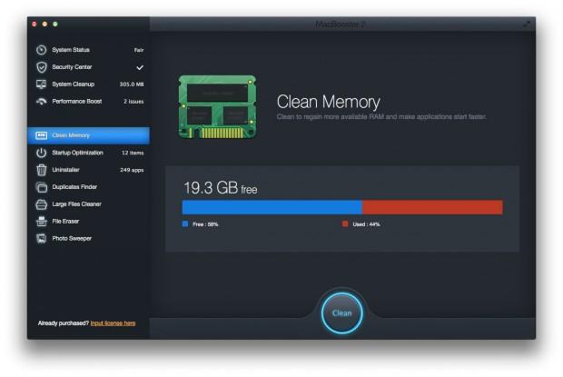 MacBooster 2 B 620x415 MacBooster 2: per pulire, velocizzare, ottimizzare e proteggere il proprio Mac