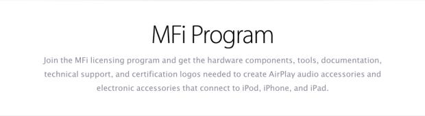 appleMFI 620x170 Con la cover giusta un iPhone può anche cadere dal tavolo
