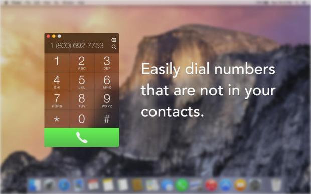 continuity1 620x387 Keypad unApp per comporre il numero per telefonare da Mac, grazie a Continuity. Disponibile su Mac App Store