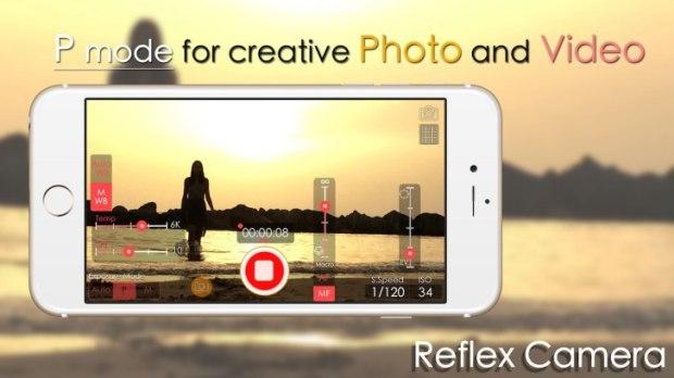 reflexcamera4 620x348 Reflex Camera, l'app iOS per foto e video con gestione manuale di ISO