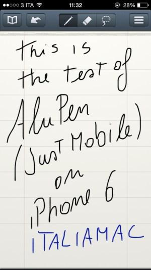 Alupen11 620x1102 Just Mobile AluPen Digital: la stilo ultra fine per iPhone e iPad