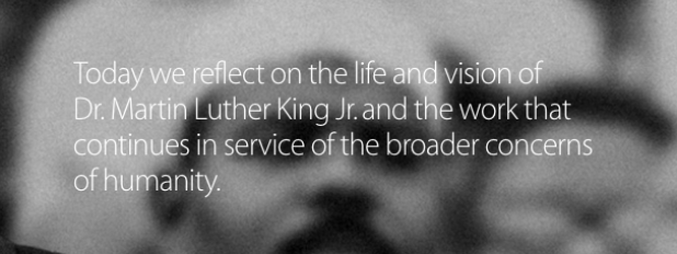 AppleLuterking1 Apple rende omaggio al Martin Luther King Day