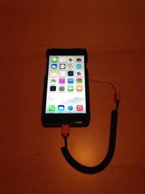 Higline Kenu montata su iPhone