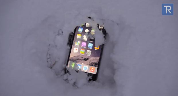 Schermata 2015 01 04 alle 13.44.51 620x335 Iphone 6 Plus sepolto dalla neve per 24 ore